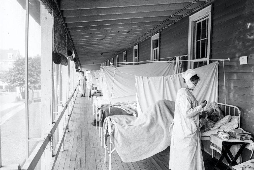 בית החולים וולטר ריד בין השנים 1910-1920