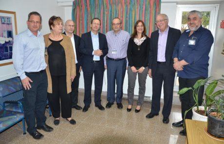 ביקור נציגי הכנסת במרכז הרפואי וולפסון