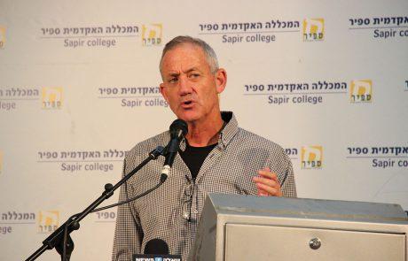 """בני גנץ: """"מערכת הבריאות בישראל מוזנחת – לא ניתן לאזרחי ישראל לשלם את המחיר"""""""