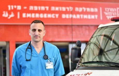 """מנצלים את ההפוגה בקורונה: ד""""ר דניאל טרוצקי מונה למנהל המיון בבי""""ח אסף הרופא"""