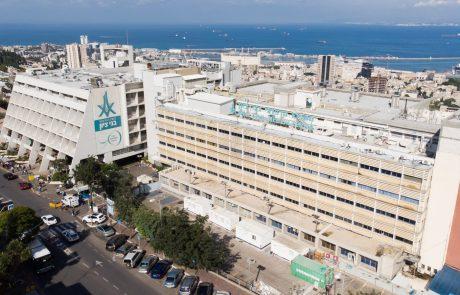 משרד הבריאות: המרכז הרפואי בני ציון ניצב בצמרת דירוג בתי החולים בשיעור החיסונים עם 91.2% מתחסנים לקורונה