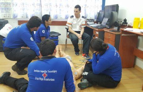 """פאראמדיקים מאקוודור הגיעו ללמוד מפעילות מד""""א"""