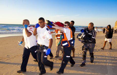 סיכום עונת הרחצה: 234 בני אדם נמשו מהמים, מהם 39 שטבעו למוות