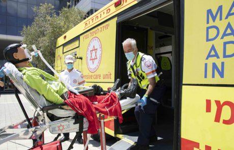 הנהג שלנו חבר'מן? מגן דוד אדום משיק אוטובוסים לפינוי חולים ופצועים ברמת ניידת טיפול נמרץ