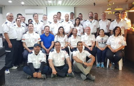 """23 מתנדבי מד""""א חדשים ברמת הגולן"""