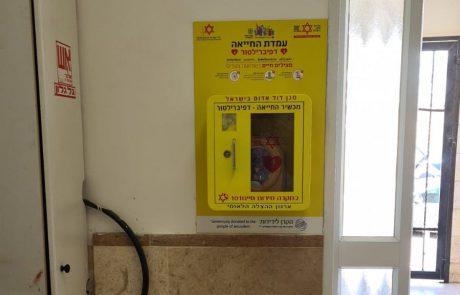 הצלת חיים לקראת חגי תשרי: מאות מכשירי מפעם (דפיברילטור) הוצבו בבתי כנסת בירושלים