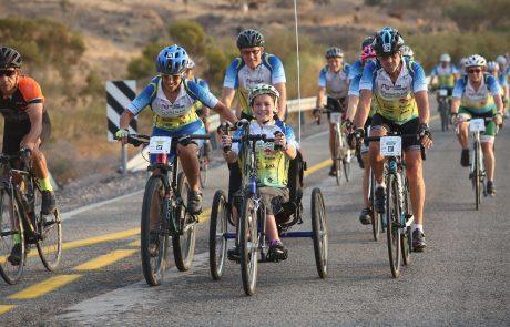 """גלגלי אהבה  2017 : מסע האופניים השנתי לגיוס תרומות למען ילדי בית החולים אלי""""ן בירושלים"""