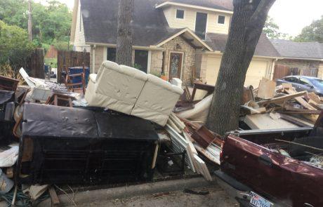 נזקים חמורים בעקבות הוריקן הארווי