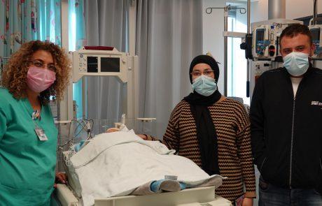 תפיסה מהירה של הרופאים בשערי צדק הצילה תינוק בן 10 ימים שסובל מתסמונת נדירה