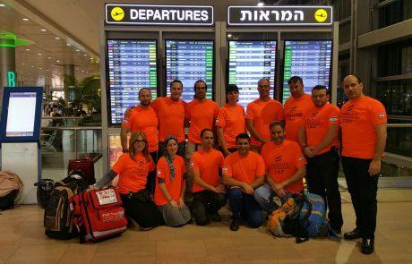 משלחת משותפת לארגוני החירום ההתנדבותיים בישראל יצאה לסייע לקהילה היהודית במיאמי
