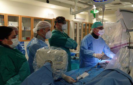 לראשונה: השתלת מסתם באמצעות צנתור ללא התערבות כירורגית