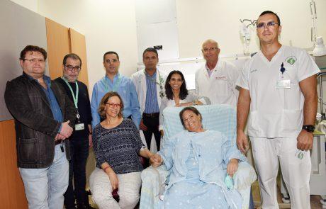 מפגש מרגש בבית החולים בין תורמת הכליה, אחות במקצועה, לבין האישה שבזכותה קיבלה את חייה במתנה