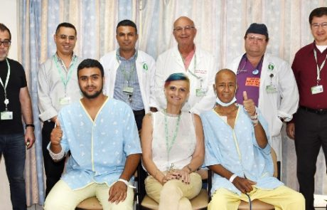 בן תרם כליה לאביו: ההשתלה בוצעה בהצלחה במרכז הרפואי סורוקה .