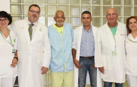"""ניתוח מוצלח להסרת גידול בכבד בגודל 10 ס""""מ, בוצע לראשונה במרכז הרפואי סורוקה"""
