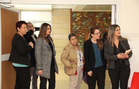 """חברי ועדת זכויות הילד במפגש מעורר השראה בבית החולים לילדים אלי""""ן"""