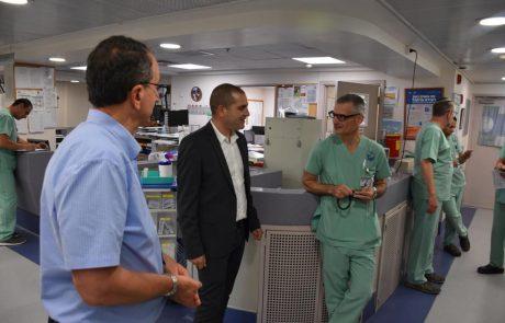 לראשונה: יוקם מרכז לצנתור מוח בגליל המזרחי