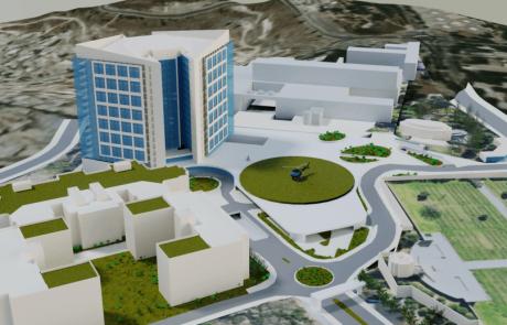 עיריית ירושלים אישרה הרחבת קמפוס בית החולים הדסה הר הצופים