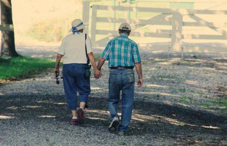קשיי הליכה של אנשים מבוגרים