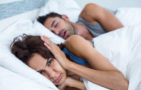 נוחרים במהלך השינה? אל תזניחו!