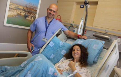הדסה: ניתוח אורטופדי מורכב ומוצלח לכדורגלנית מהמכביה